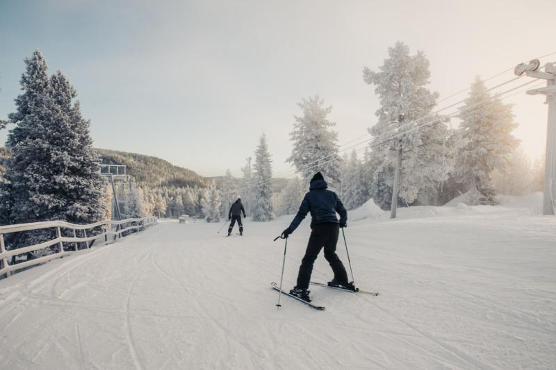 Zweden Zweeds Lapland wintersport skien