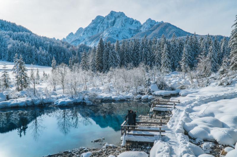 Favoriete wintersportbestemmingen Kranjska Gora, Slovenië
