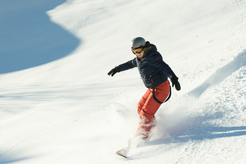 Favoriete wintersportbestemmingen snowboarder wintersport