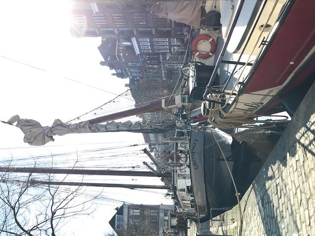 Boten aan de Hoge en Lage der A Groningen
