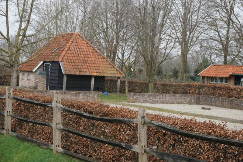 Schuurkerk Chaam Brabant Nederland