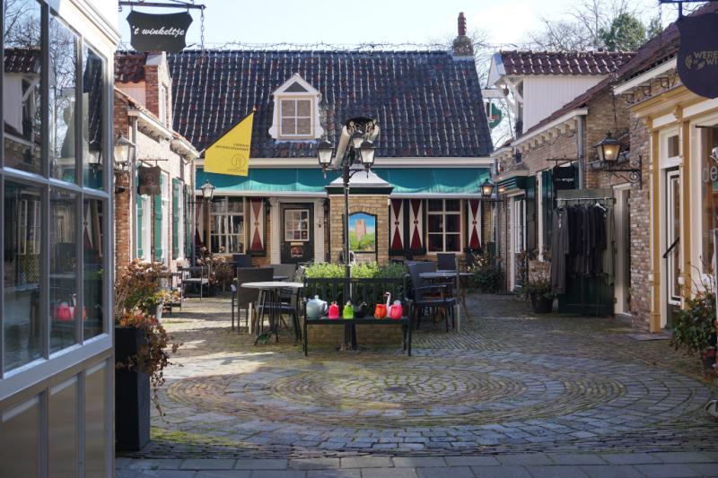 Binnenhofje H. Hartkerk in Oosterhout