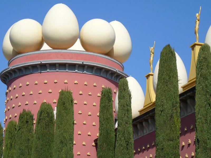 Figueres bereikbaar per AVE hogesnelheidstrein Spanje