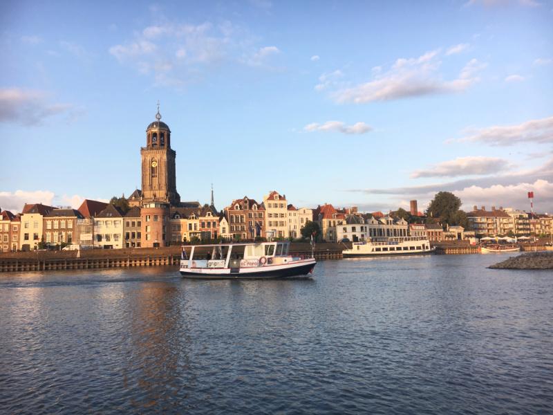 Hanzestad Deventer Overijssel Nederland Tikva Gezin op Reis