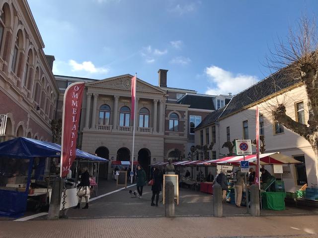 Ommelander Markt Groningen stad