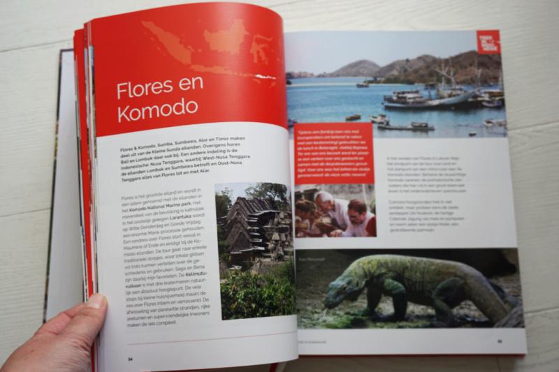 Flores en Komodo