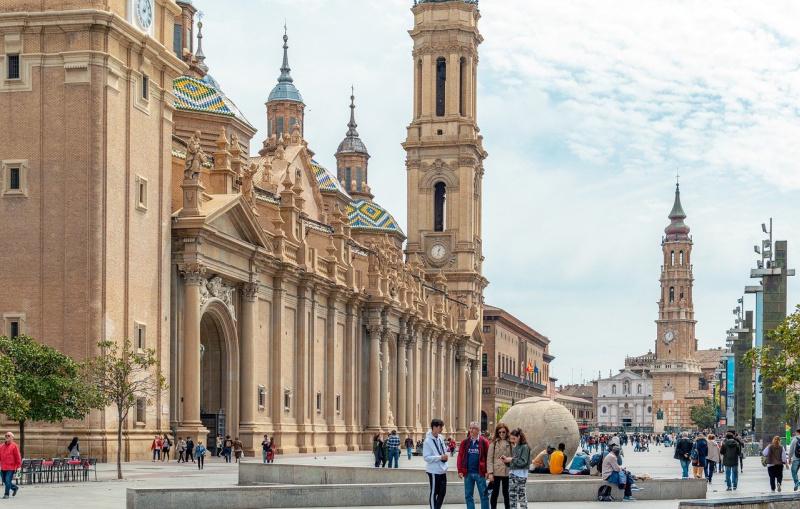 AVE hogesnelheidstrein Spanje Zaragoza