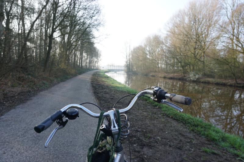 Markdal fietspad Nederland België