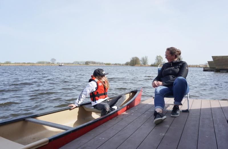 Kampeervlot de Heen Brabant Brabantse Wal Nederland camping-raft.com