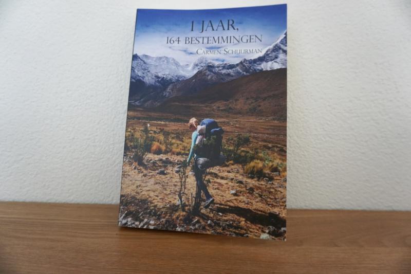 boek 1 jaar, 164 bestemmingen carmen schuurman