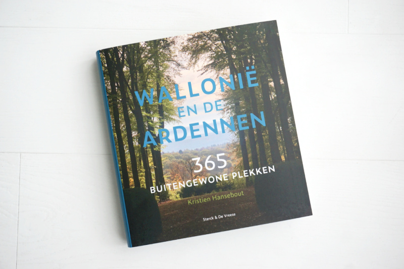 boek Wallonië en de Ardennen 365 Buitengewone Plekken