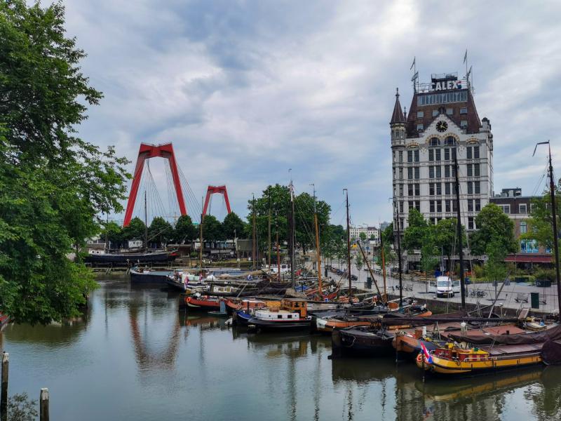 Wat te doen in Rotterdam? Oude haven