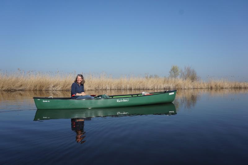 Majel eigenaresse Wetlands Safari kano Amsterdam Nederland