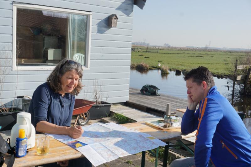 Wetlands Safari begeleide kanotochten nabij Amsterdam Nederland