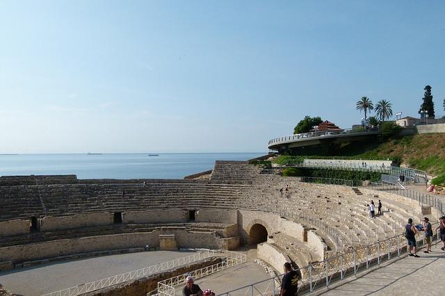 Spanje Amfitheater Tarragona
