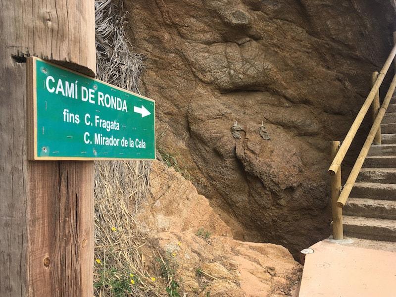 Camino de Ronda Costa Brave Wandelen in Spanje