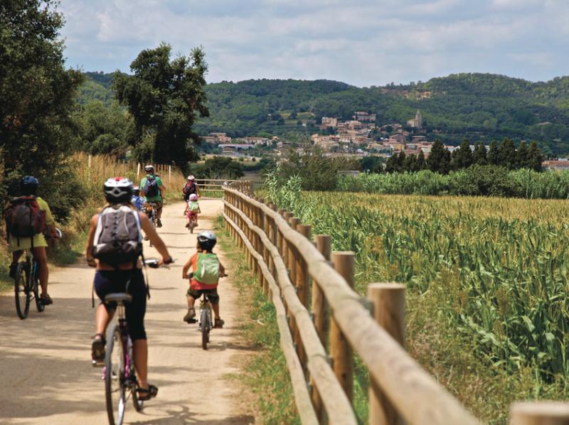 vías verdes catalunya