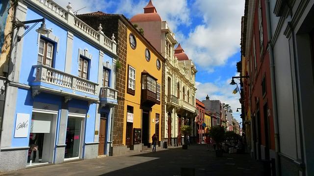San Cristóbal de La Laguna Tenerife Spanje