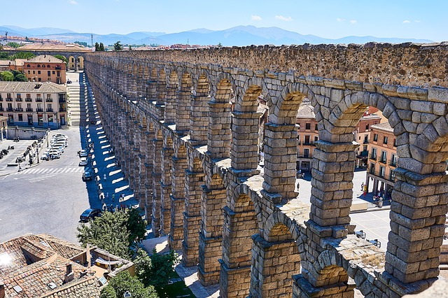 Spanje Segovia Aquaduct World Heritage