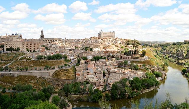 Toledo Spanje Taag Vista