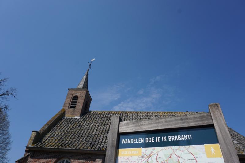 Wandelen doe je in Brabant