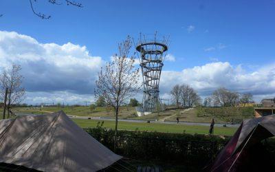 Stadscamping Tilburg   Overnachten in het toffe Spoorpark