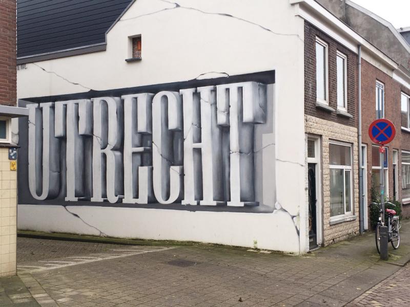 Street Art Utrecht Nederland