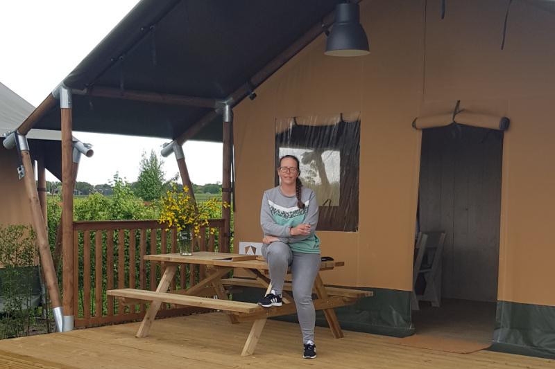 safaritent mincamping Petit013 Tilburg Brabant Nederland