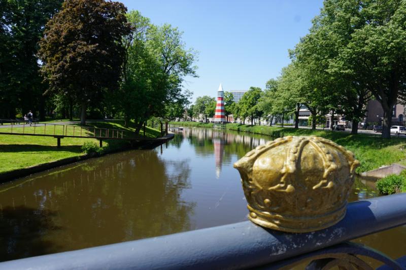 Oranje-Nassaupad Willemsbrug Breda