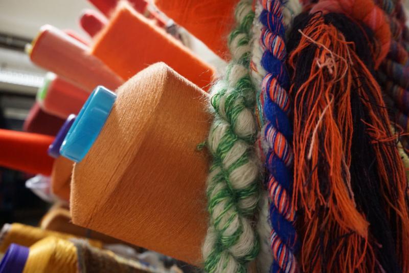 klos garen Textielmuseum tilburg brabant Nederland