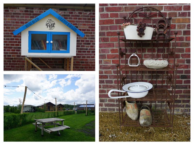 Mini camping kamperen in Tilburg
