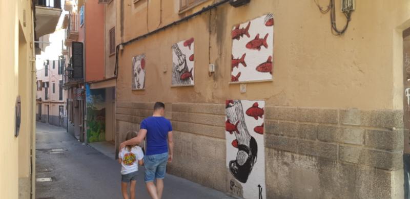 Santa Catalina Mallorca Balearen Spanje