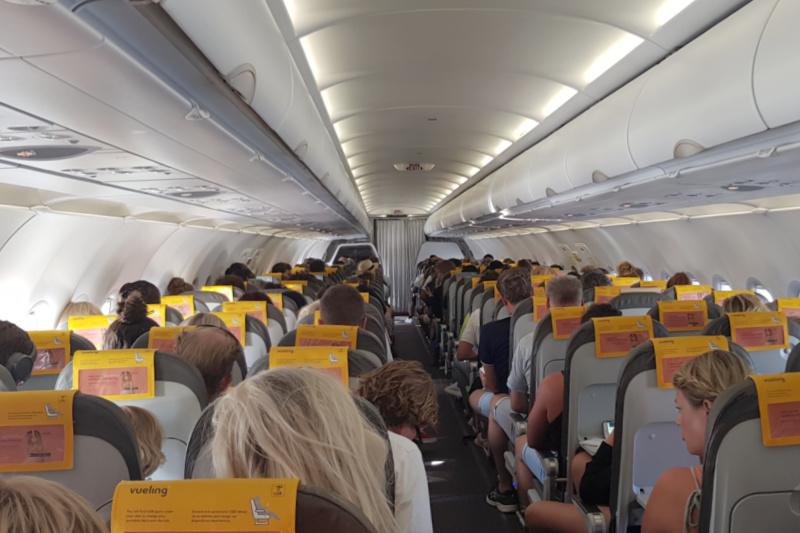 vliegtuig stoelen