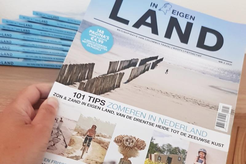 Zomeren in eigen land magazine gratis winactie