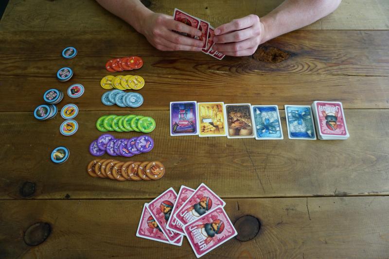 Jaipur strategisch kaartspel