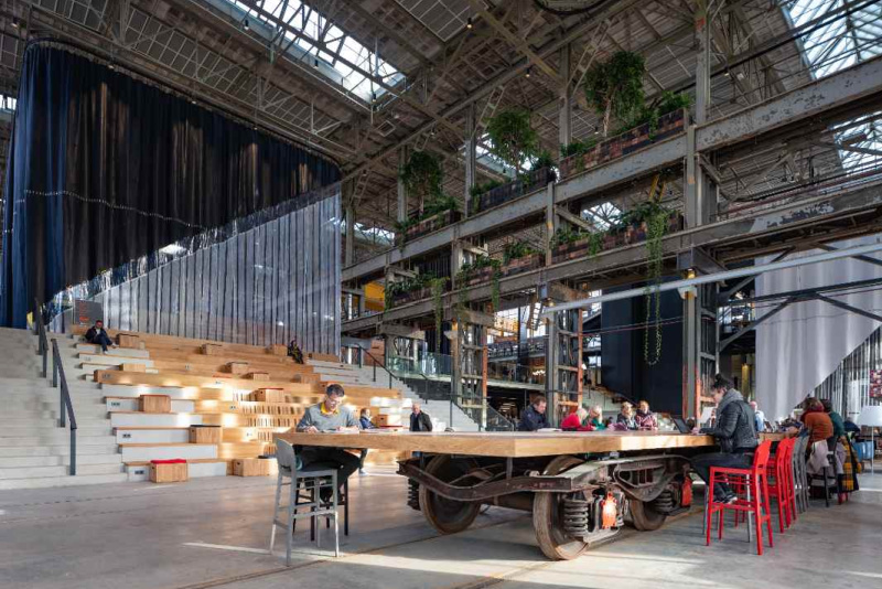 LocHal Library interior design by Ossip