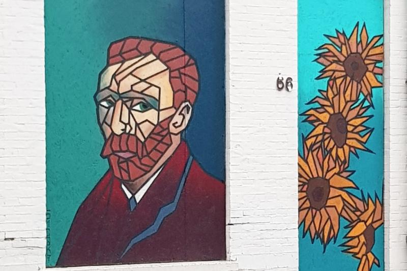 Wat te doen in Tilburg Street art Vincent van Gogh