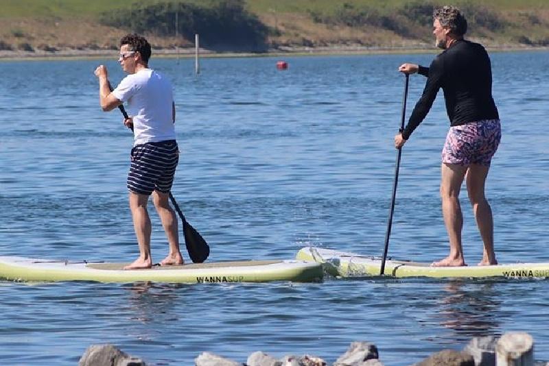 Verkoeling zoeken op het water WANNAsup Breda