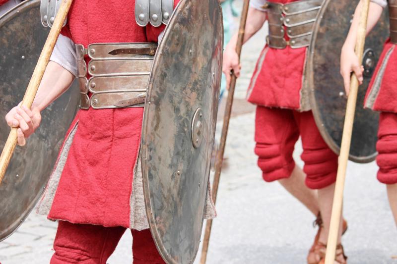 In het kielzog van de Romeinen