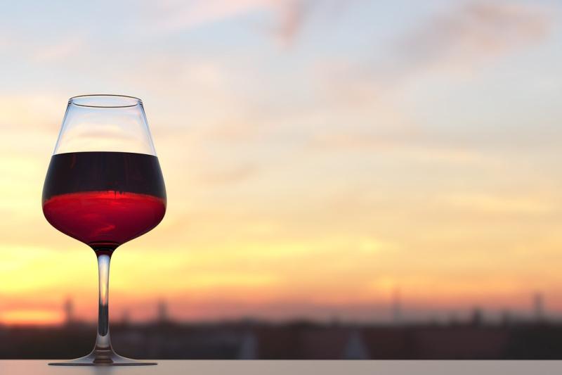 Frankrijk Atlantische Loirestreek rode wijn