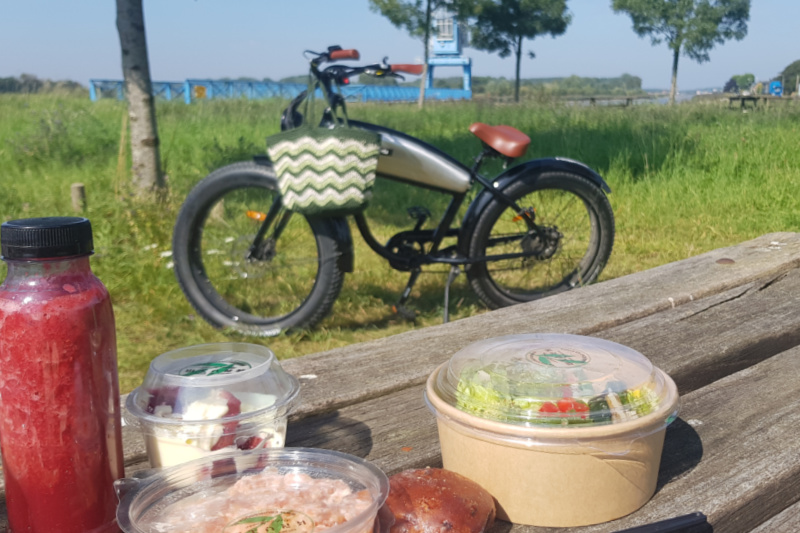 E-chopper Gouda picknick lunch