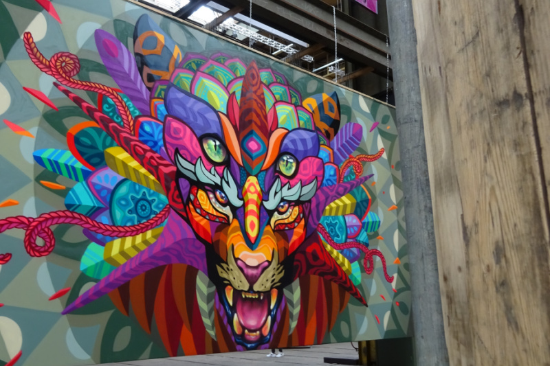 STRAAT Museum Amsterdam Noord | Waar street art binnen komt