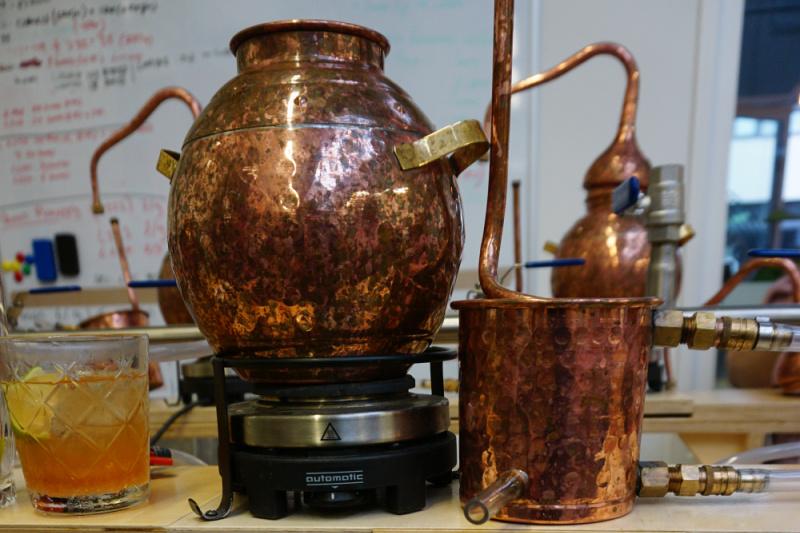 rum distilleren
