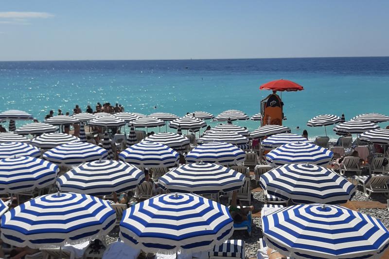 Nice Côte d'Azur Frankrijk strand