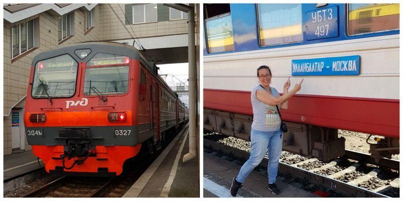 Trans Mongolië Express van Moskou naar Beijing
