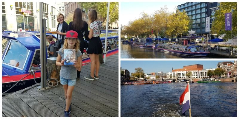 Amsterdam met kinderen Blue boat kids cruise