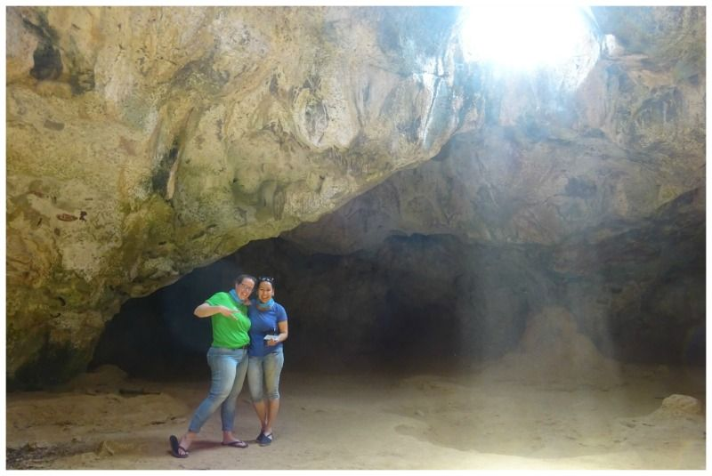 Aruba Nationaal park Guadirikiri grot