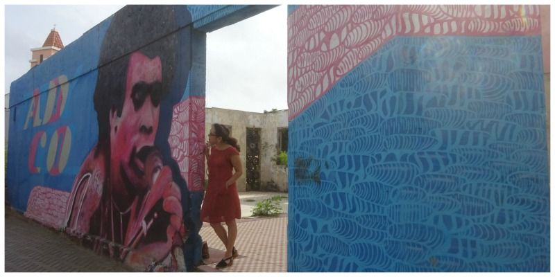 Aruba street art in San Nicolas Bobby Farrell Amsterdam Street Art The Netherlands