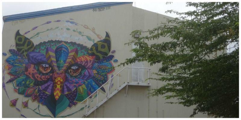 Aruba street art in San Nicolas Farid Rueda Mexico uil