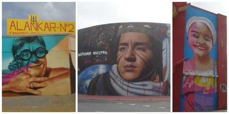 Aruba street art in San Nicolas koppen